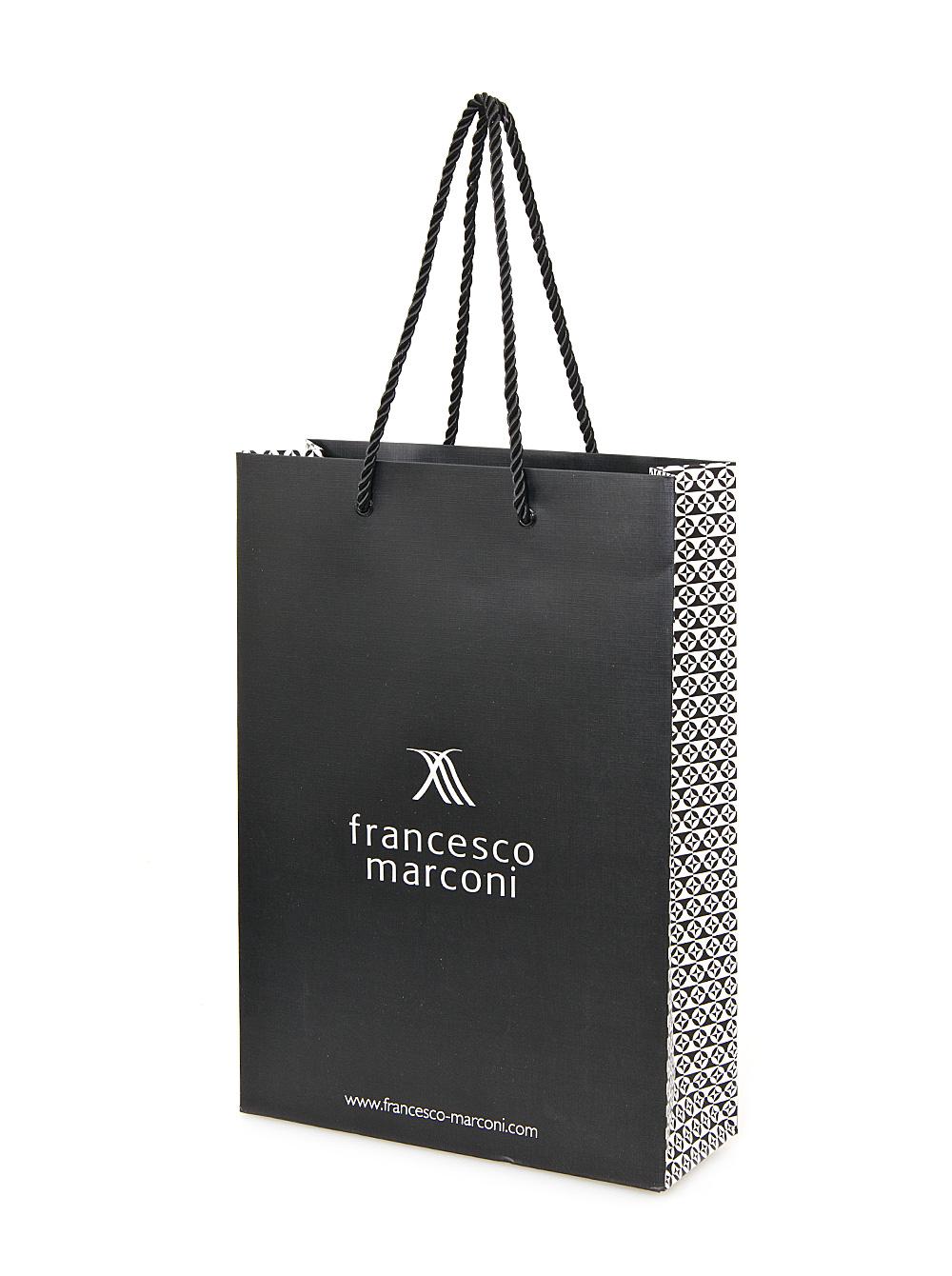 ... Франческо Маркони изготовляется специальная фурнитура. Символ торговой  марки должен присутствовать на всех мелких деталях, вплоть до бегунка  молнии. b8fb1087e25