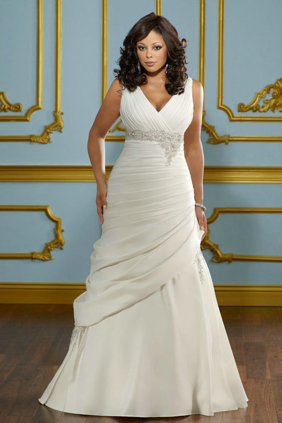 Свадебные платья в греческом стиле для полных невест
