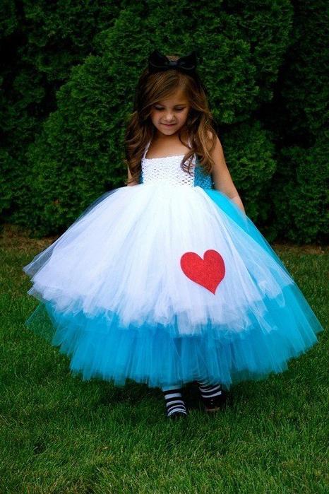 Платье на девочку с юбкой пачкой
