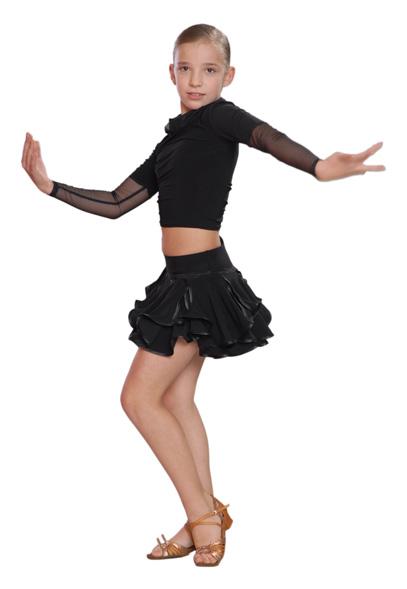 Юбка для спортивных танцев для девочки