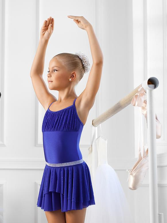 Купальник для танцев с юбкой или без