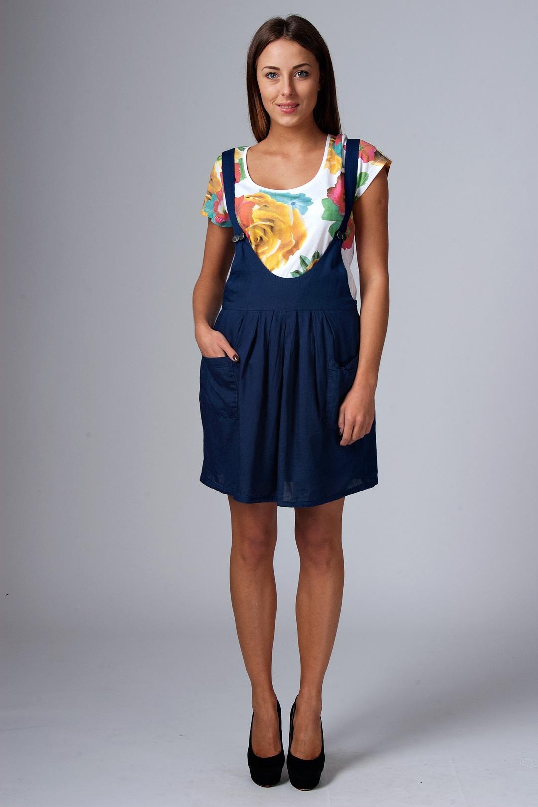 Детский комбинезон юбка