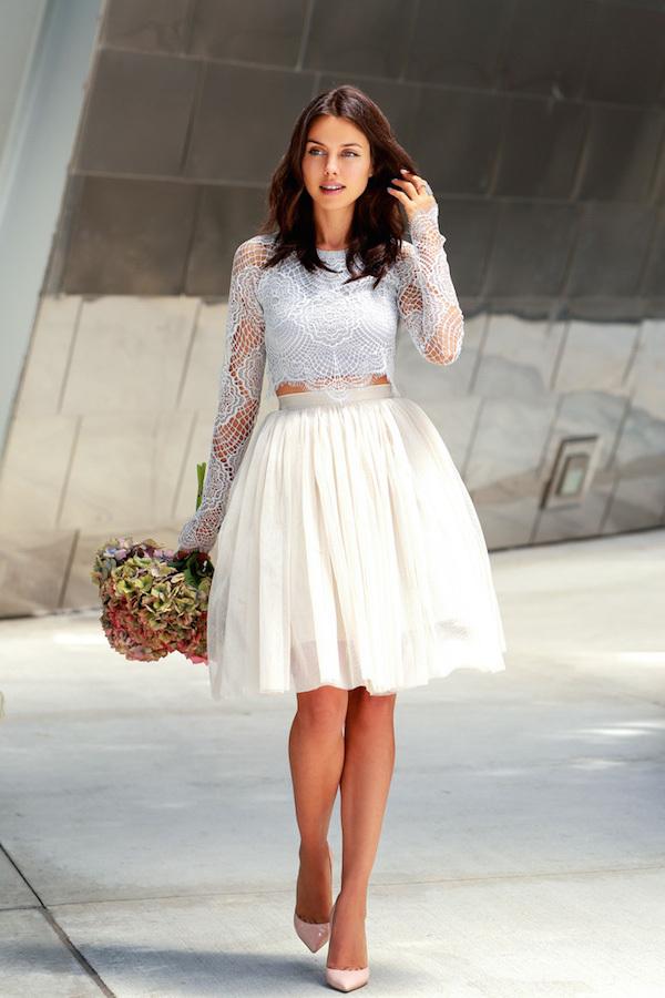 Пышная юбка и корсет