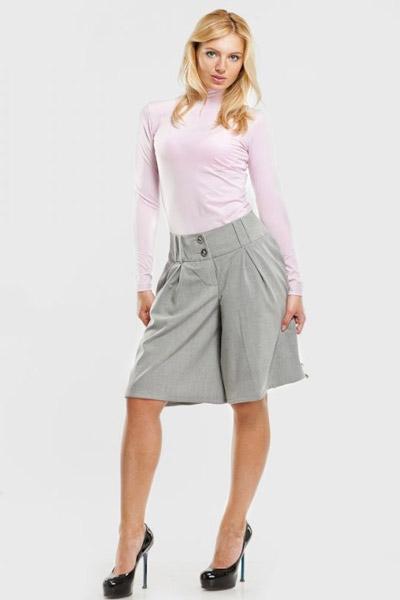 Юбка-шорты для полных женщин