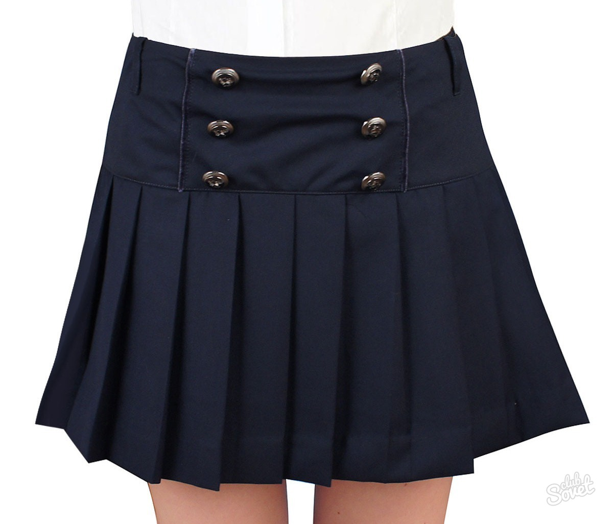 Школьная юбка в складку своими руками фото 964