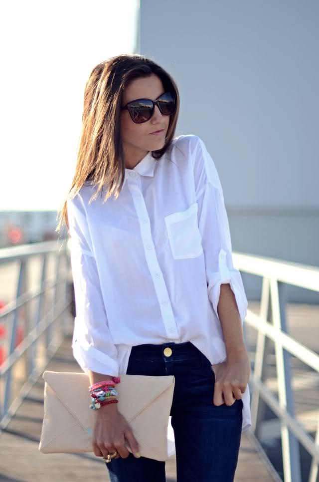 Фото женских рубашек заправлены
