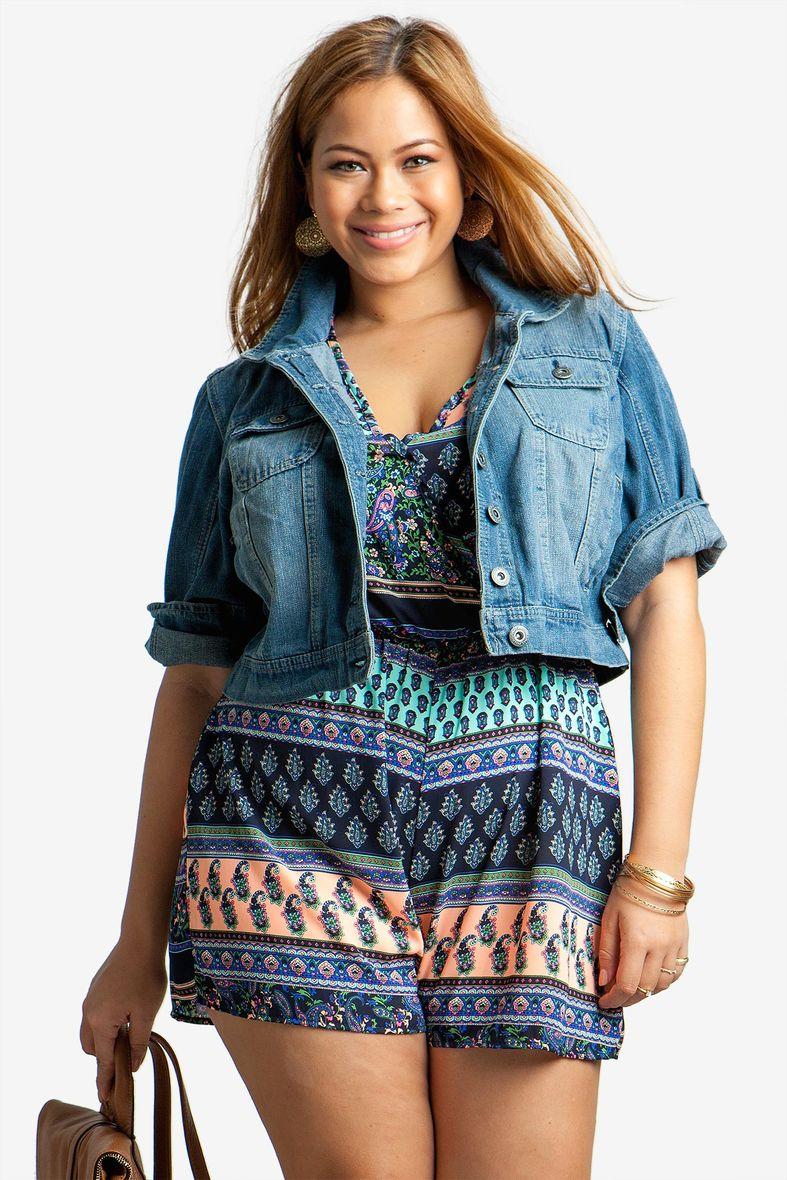 Ее стиль одежда больших размеров