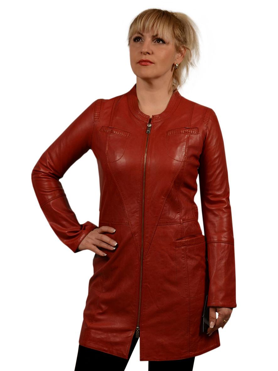 Куртки из натуральной кожи женские больших размеров