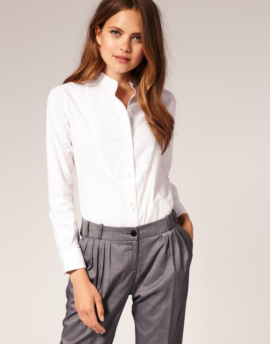 592148da599 Женские рубашки и блузки (41 фото) 2019 года  чем отличаются
