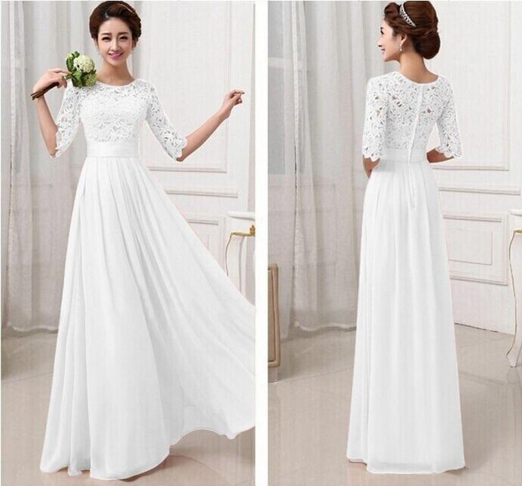 Красивые свадебные платья простые