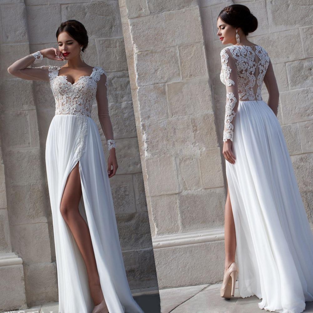 Вечернее платье белое не свадебное