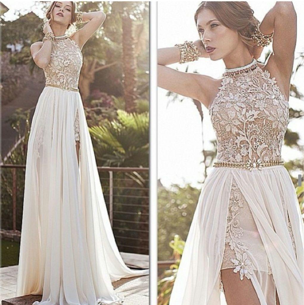 13a8f8e635226c5 Белое вечернее платье (55 фото): в пол, макияж, красивые, нарядные ...