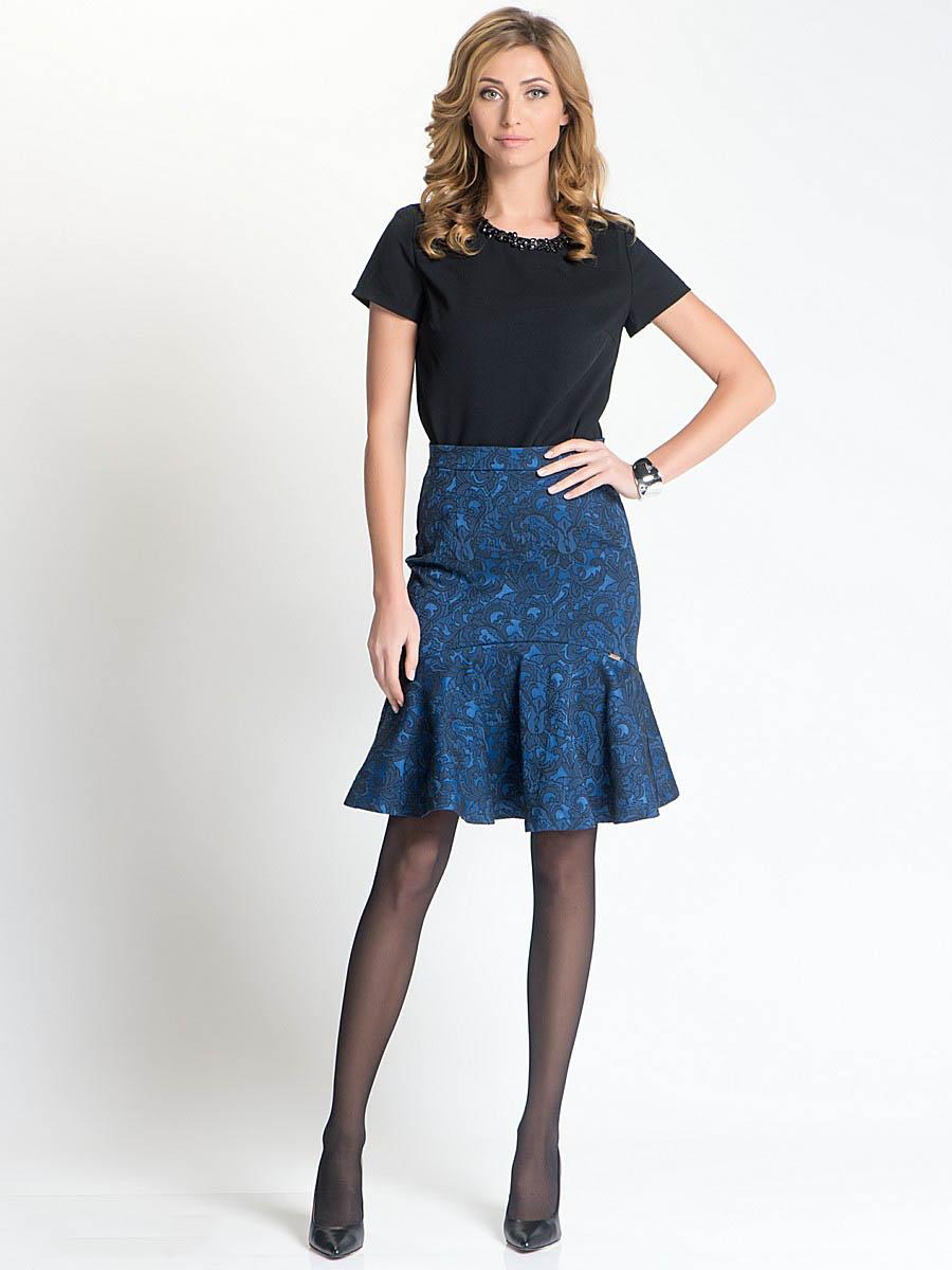Сшить летнюю юбку с воланами фото 173