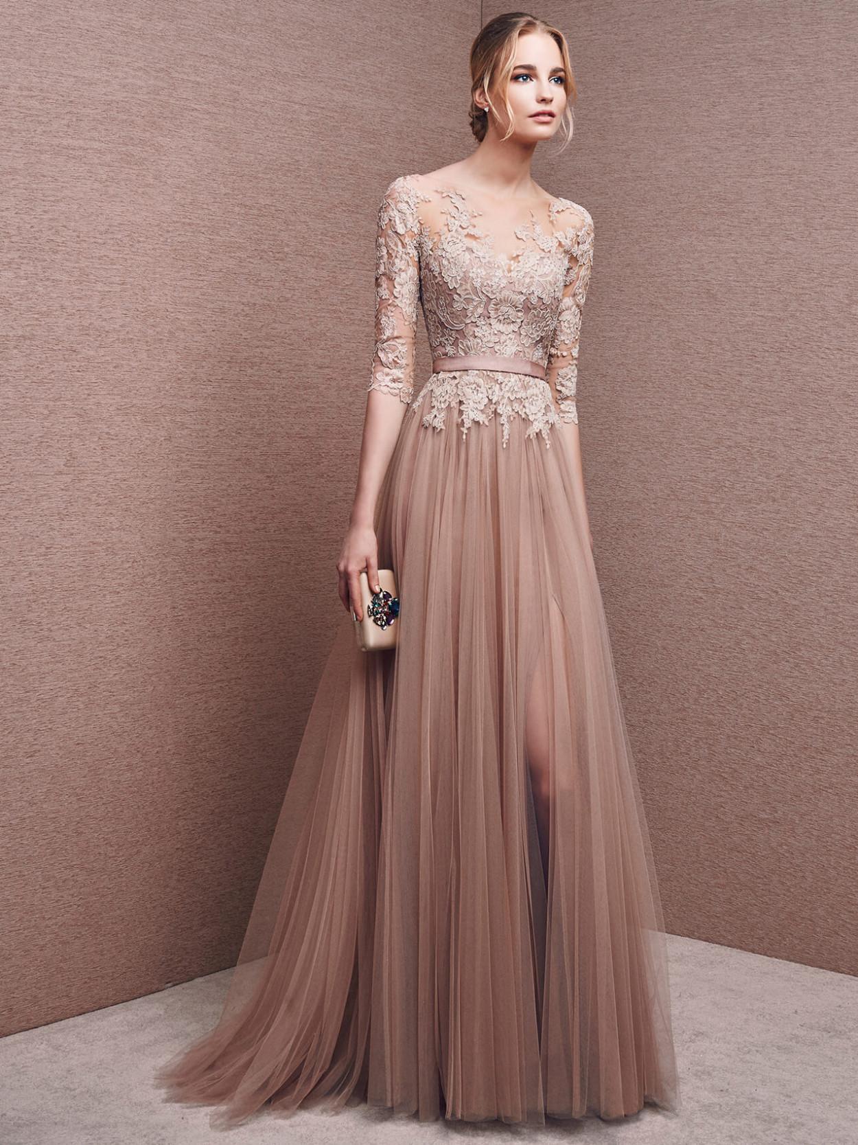 Платье силуэт вечернее