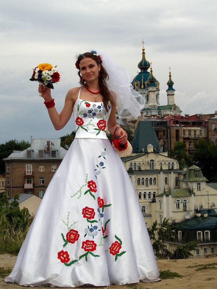 Вышивка в украинском стиле 82