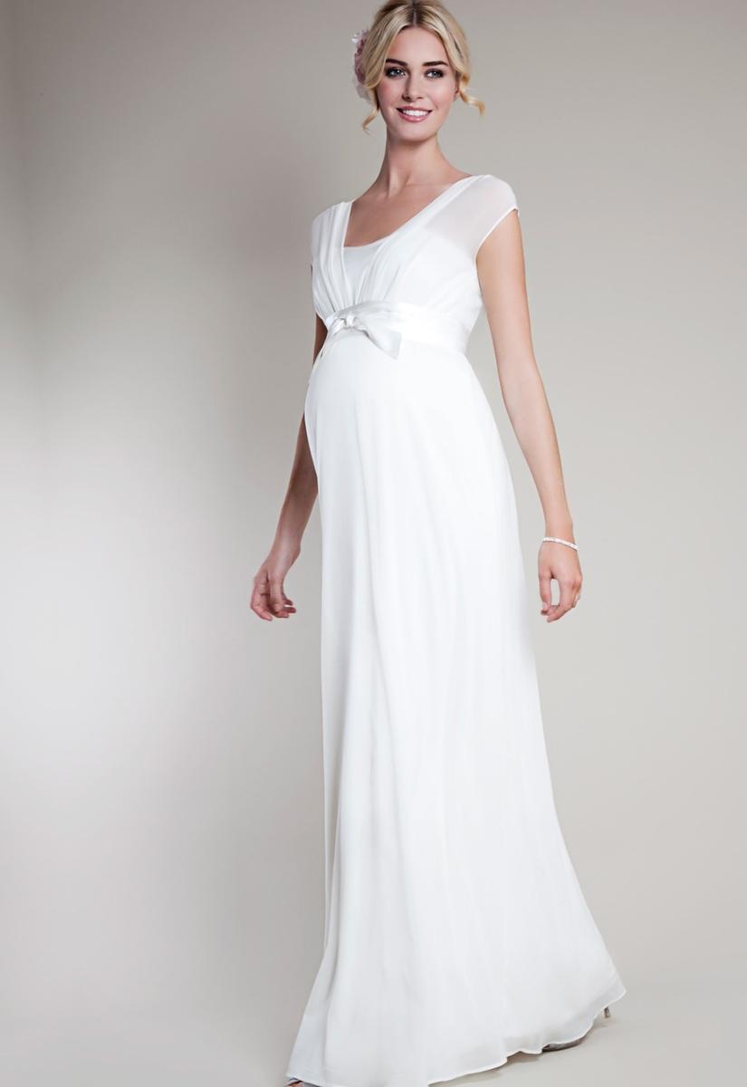 Cвадебные платья для беременных новые фото