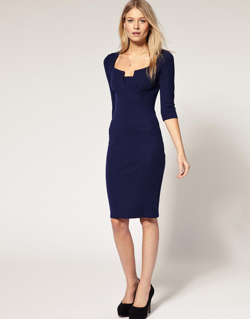 Платье на работу для девушек одежда rossodisera оптом