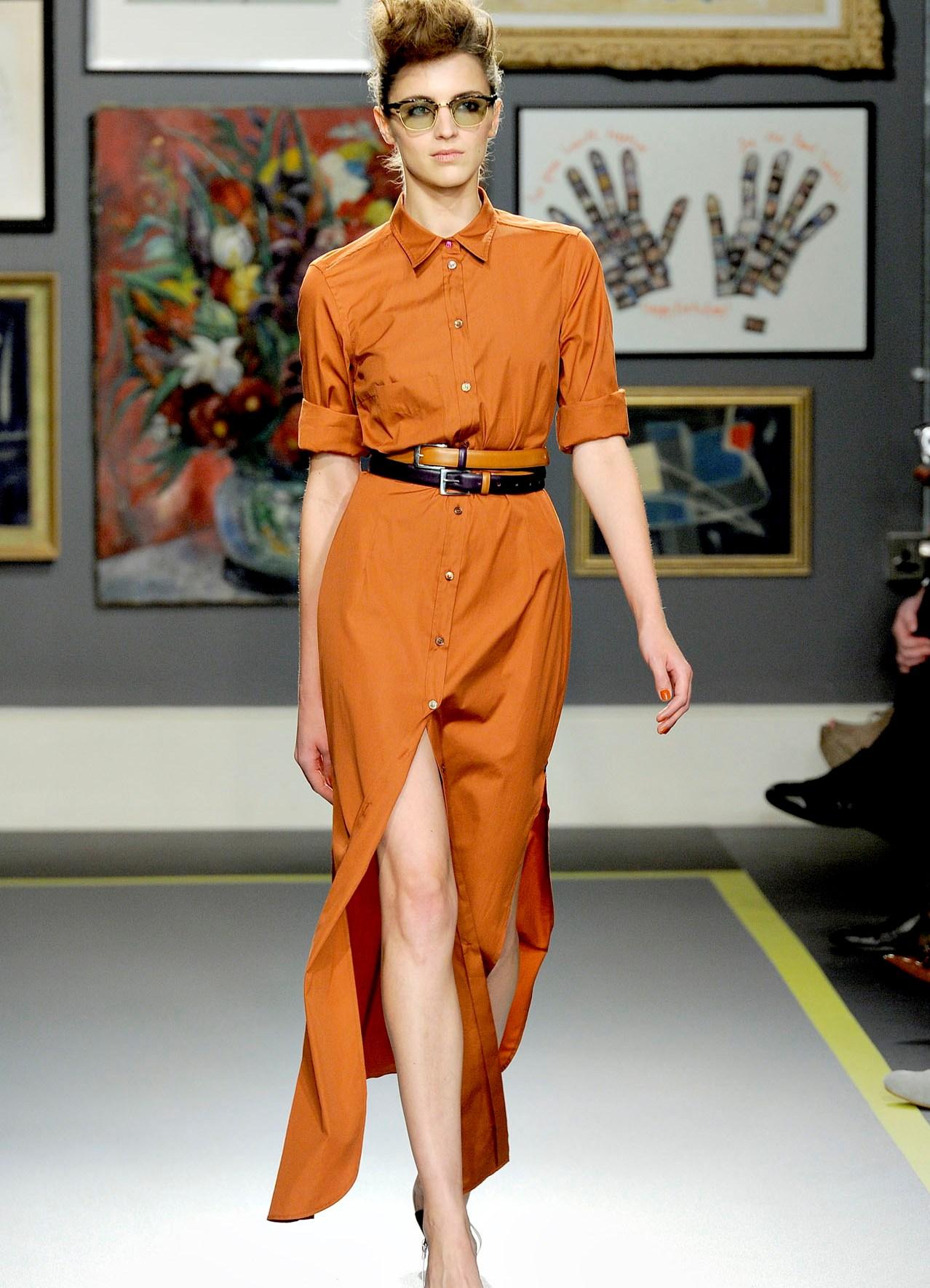 1c0187d050a Длинное платье-рубашка 2019 (53 фото)  в пол