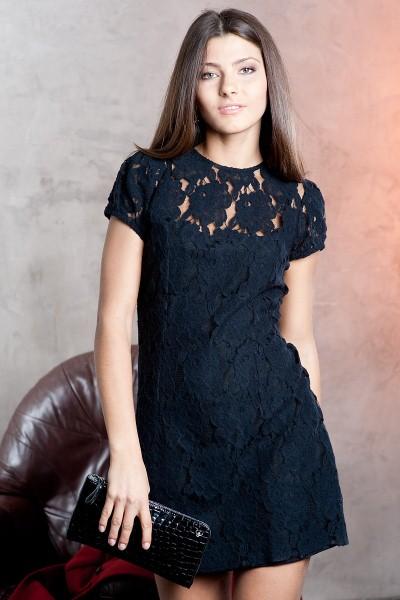 Платье под кружевом фото