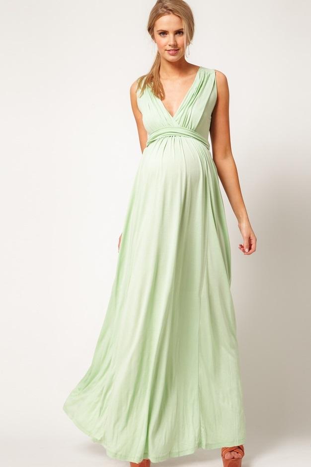 Платья летние для беременных длинные