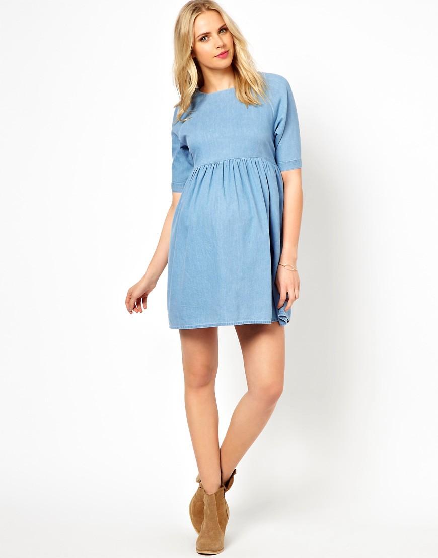 8816923fbd22 Беременным женщинам важно, чтобы платье было свободным, не давило и не  стесняло движений, поэтому часто останавливают свой выбор на платьях –  рубашках ...