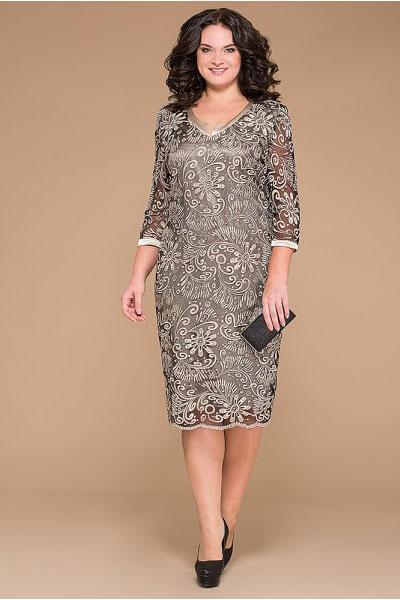 5f0930004c1 Гипюровые платья больших размеров (40 фото)  платья их гипюра для полных