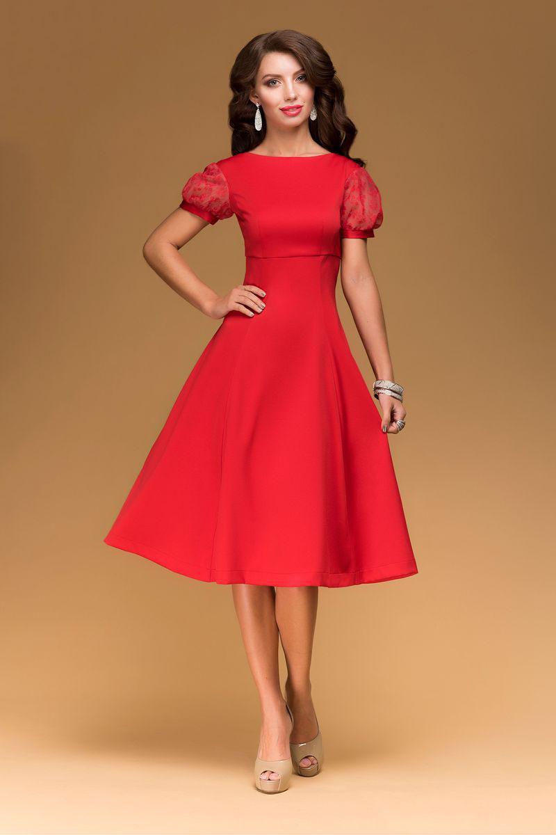 Купить Красивое Красное Платье
