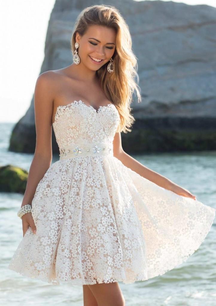 Коктейльные пышные короткие платья