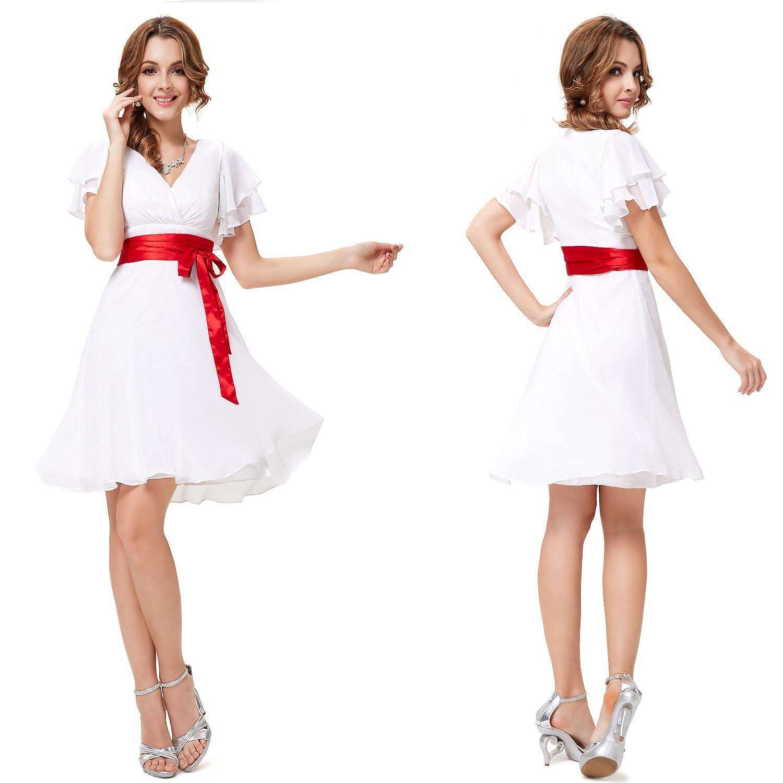 Платье белое с розовым
