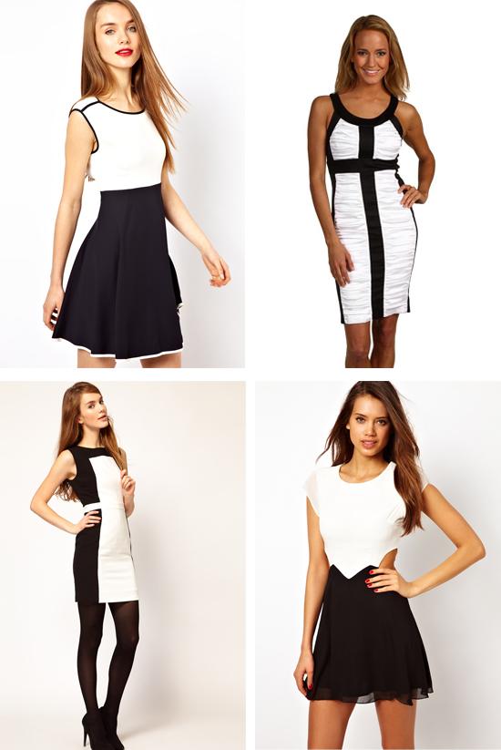 Бело Черное Платье Доставка