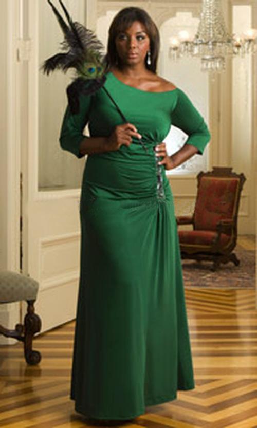 Длинные платья для женщин 50 лет