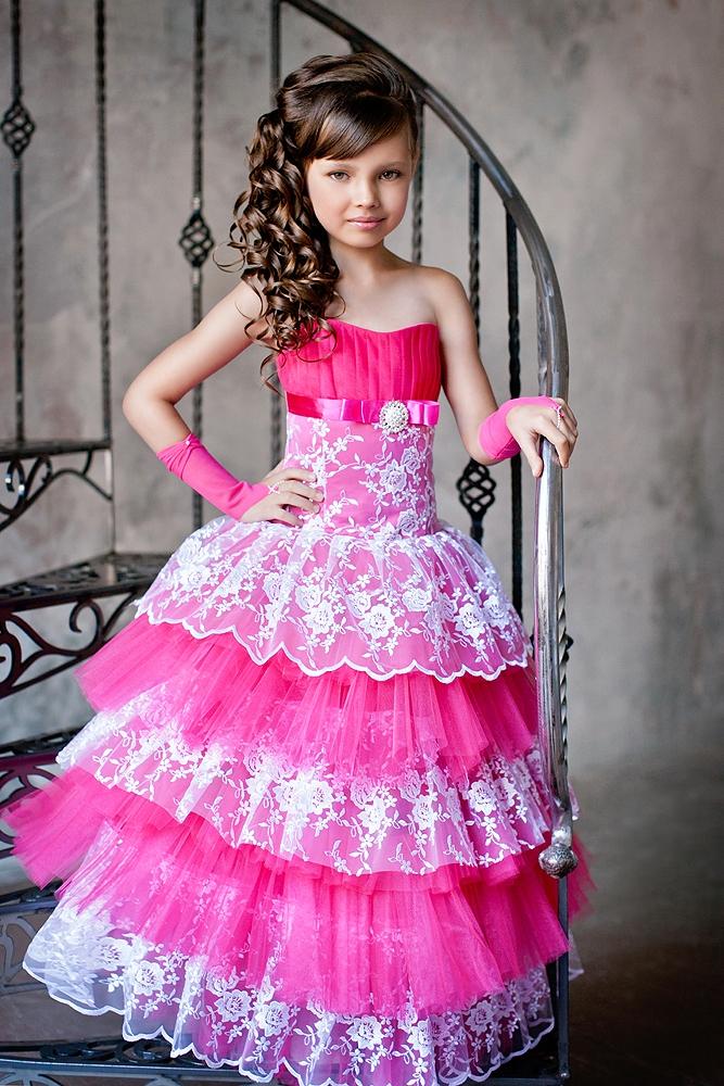 c139d69f78074f4 Красивые детские вечерние платья (46 фото) для девочек