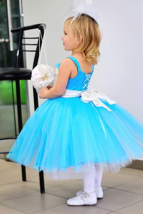 Как детское платье сделать пышными 454