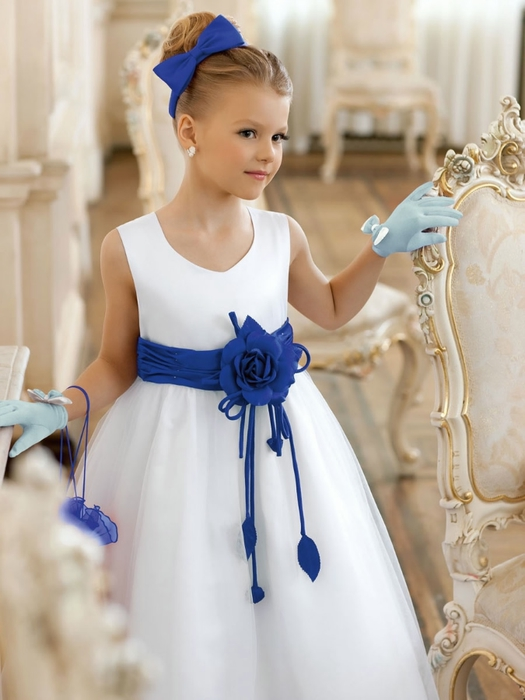 Самое красивое детское платья