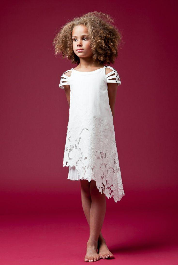 Красивые и модные платья на девочек 11