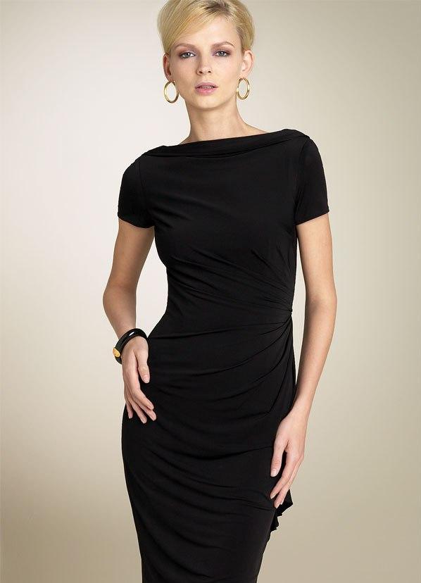 Фото чёрного платья