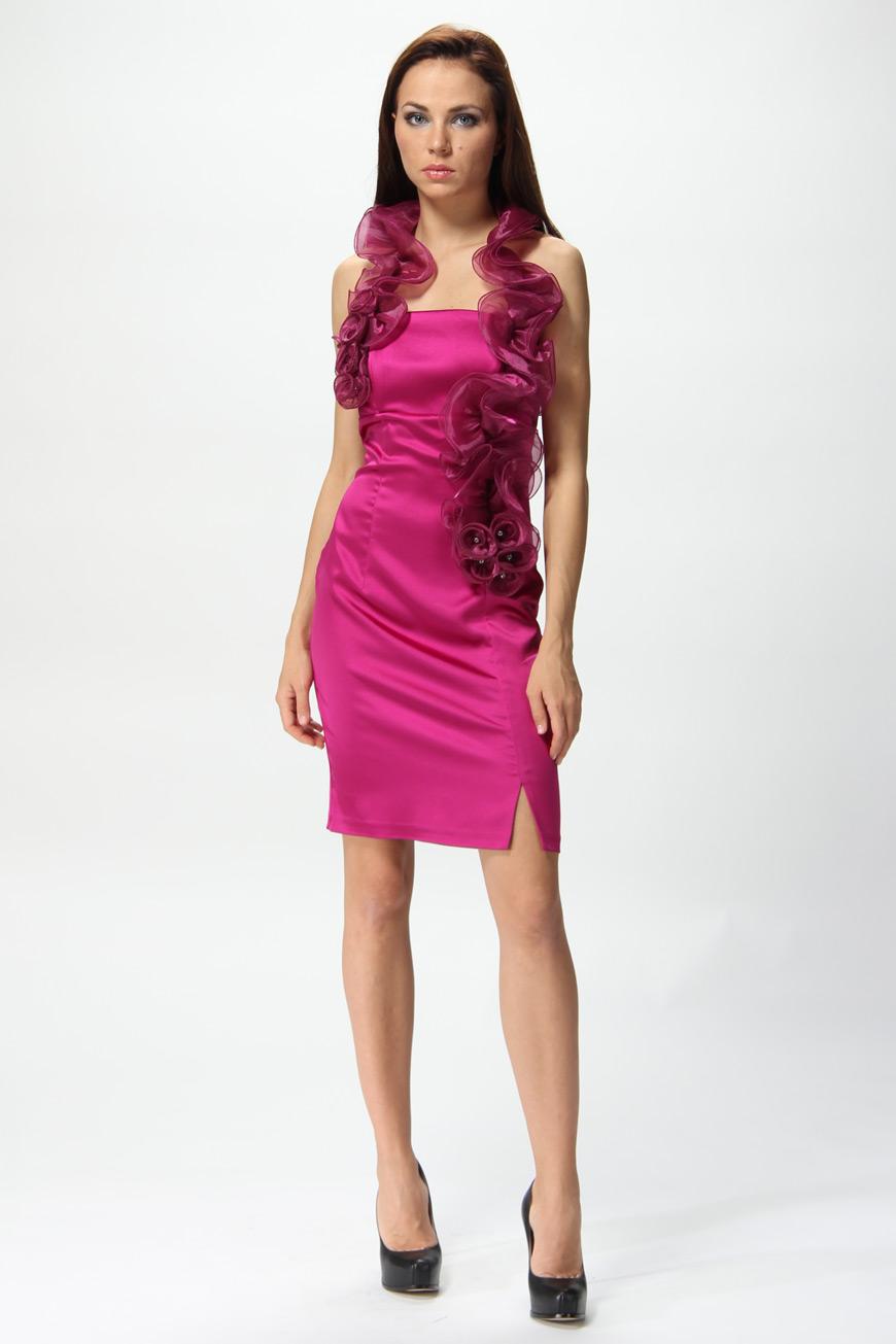 Купить Платье Фуксия