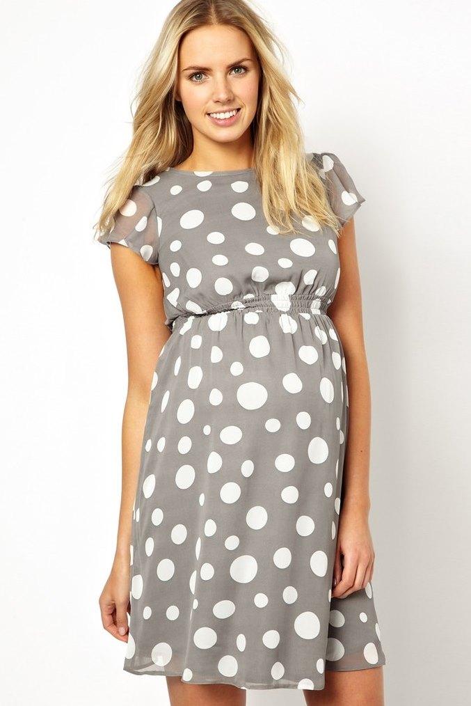 Красивые платья для беременных (51 фото)  нарядные, на праздник, стильные,  торжественные 01e7fe28236