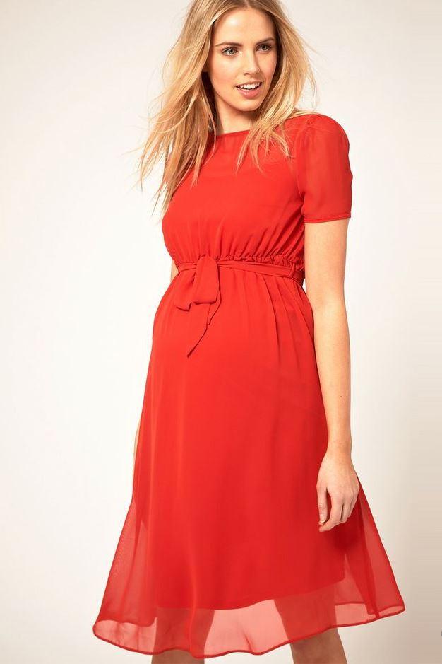 Красивые платья для беременных (51 фото)  нарядные, на праздник ... 4b1460f437c