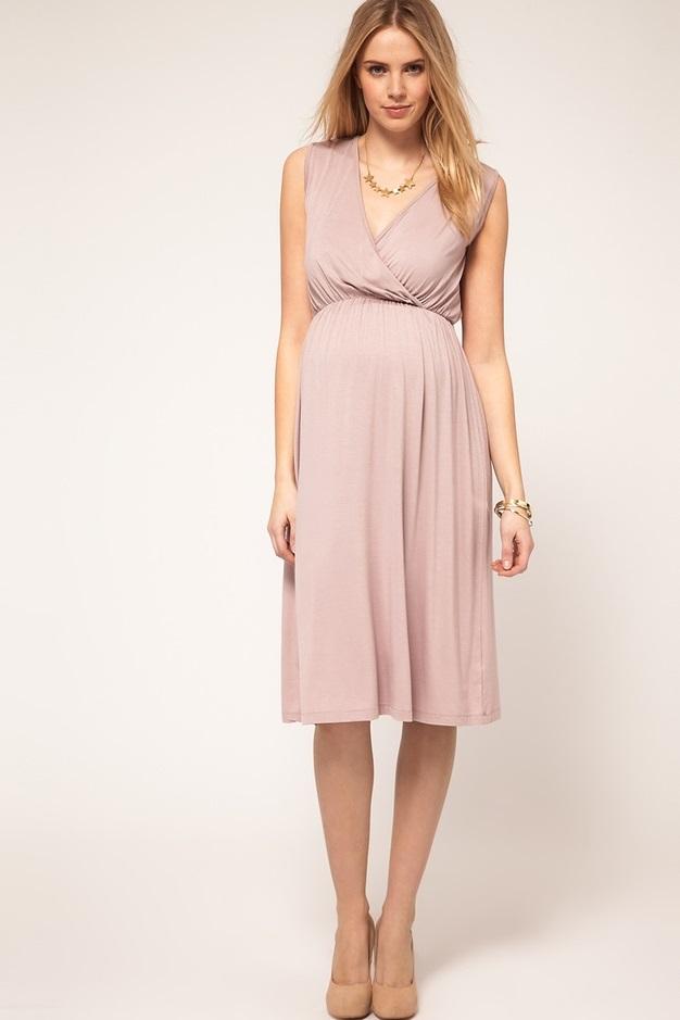 Легкие платья для беременных фото 24