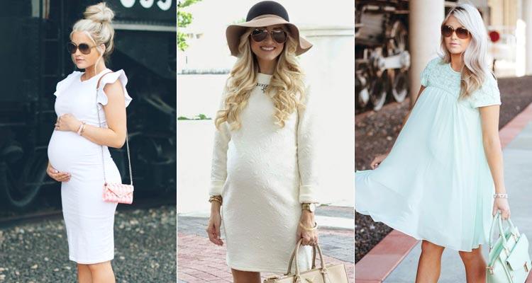Какие платья носить беременным фото 65