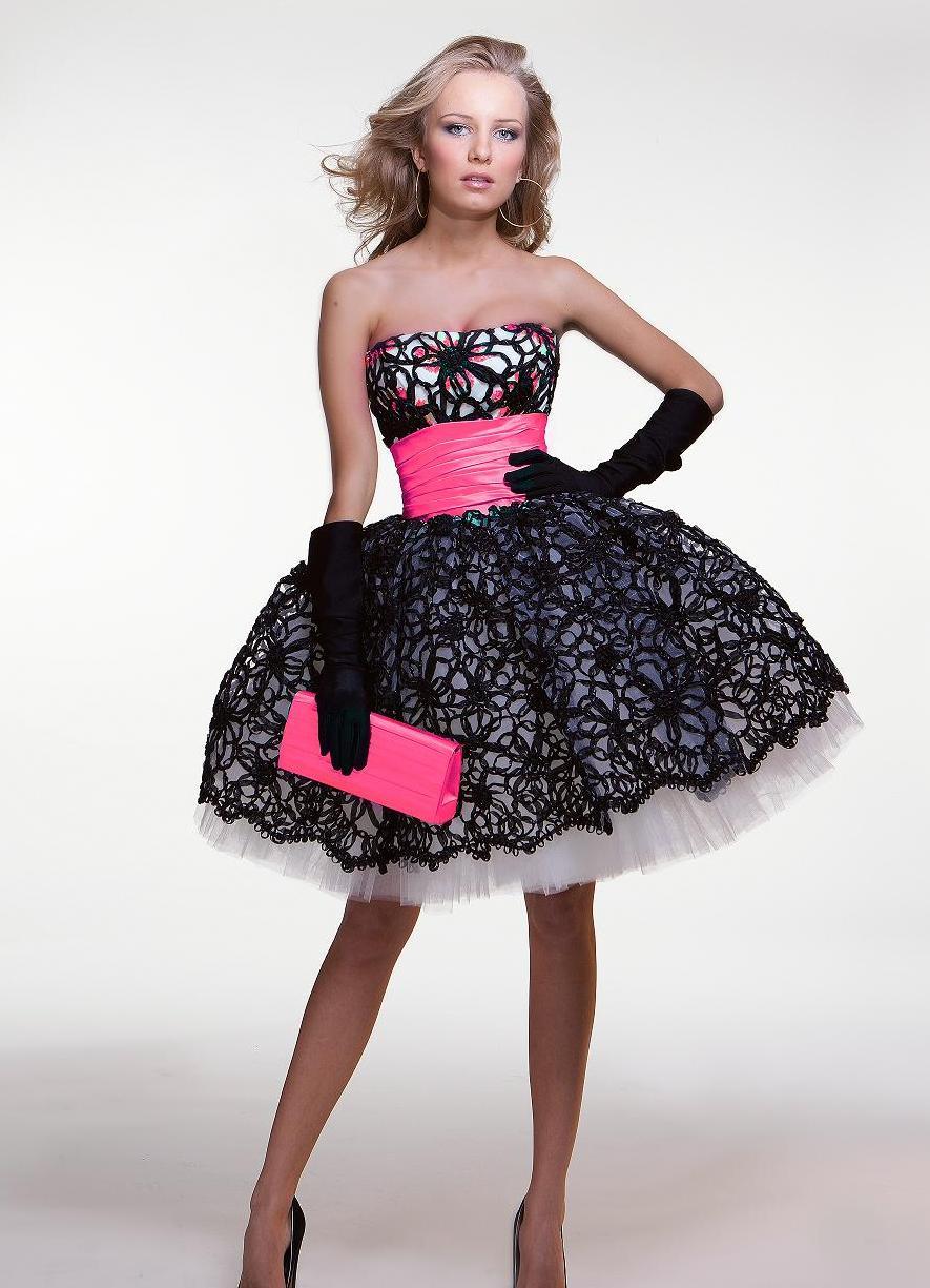 Короткое пышное платье своими руками фото 311