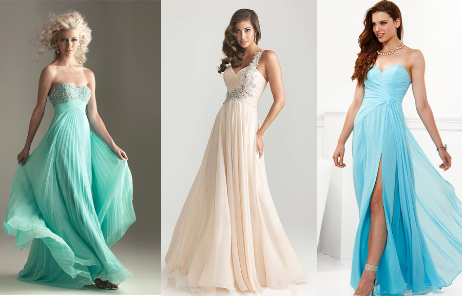 Выбор платья для выпускного