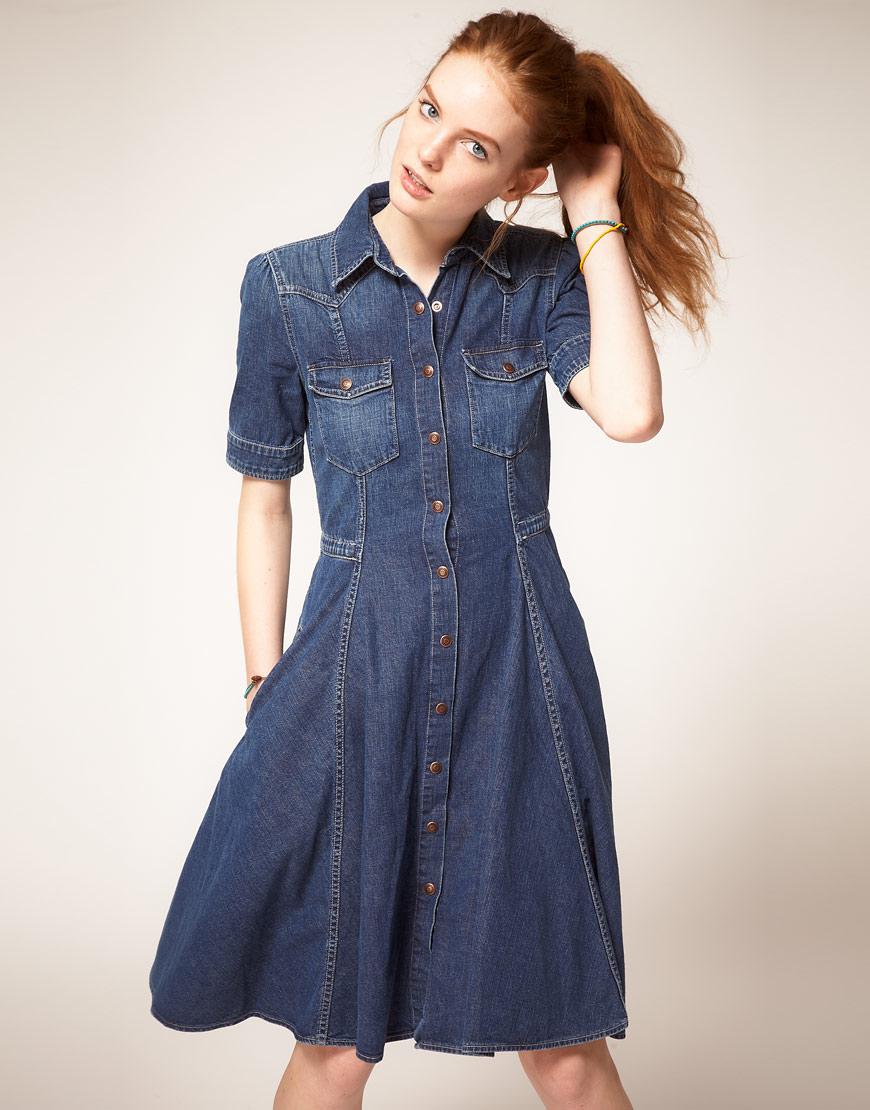 Платье джинсовое levis