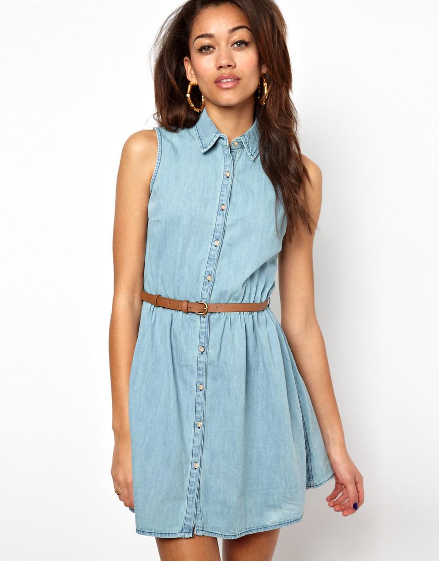 abf1df6e186 Летние джинсовые платья 2019 (39 фото)