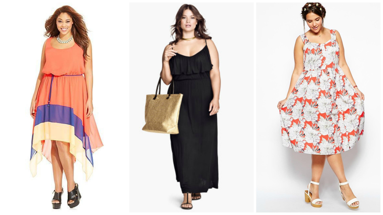 Импортная одежда для полных женщин