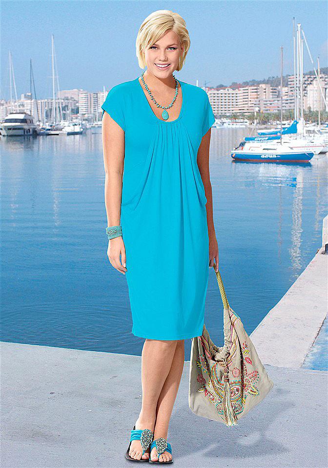 Модель платья лето женщинам за 50 лет
