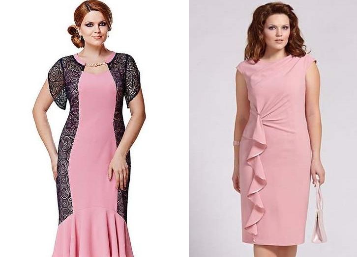 Модели модных платьев на женщин