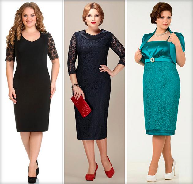 Прямое платье для женщины за 40