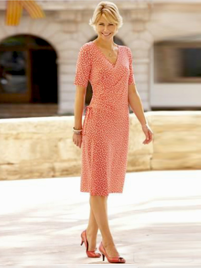 Летнее платье для женщины 60 лет купить